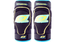 O'Neal Dirt Knee Guard RL yellow/cyan
